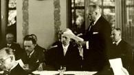 1938, les persécutions exercées par le régime nazi sur des centaines de milliers de citoyens allemands puis autrichiens, en majorité juifs, s'aggravent ...